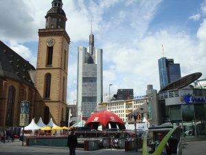 Frankfurt, Germany: old and new