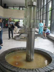 spring water, Karlovy Vary, Czech Republic